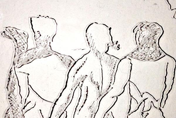 Gravure sur plexiglas 2014